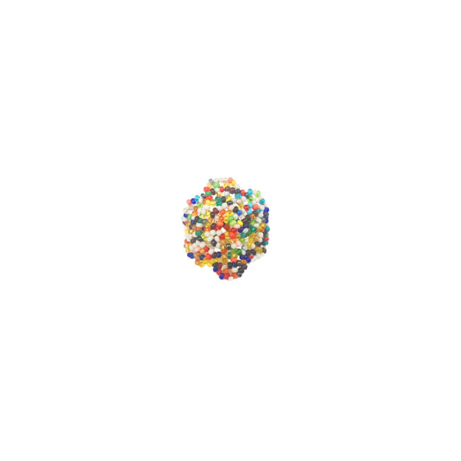 Bague multicolor