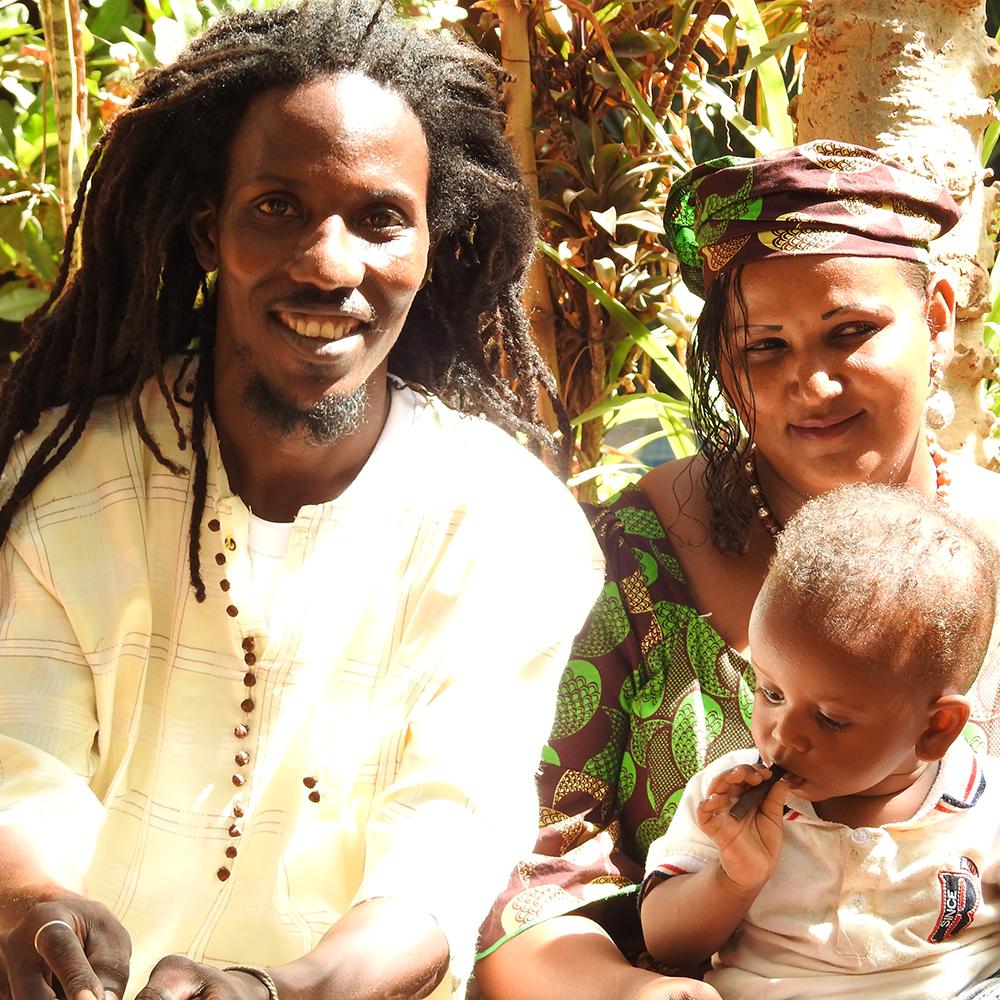 aghali et sa femme
