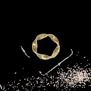 Torsade ring
