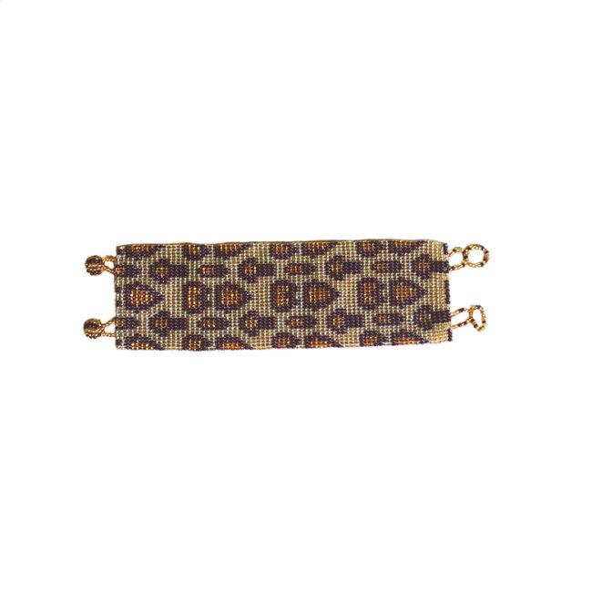Bracelet peau de jaguar packshot