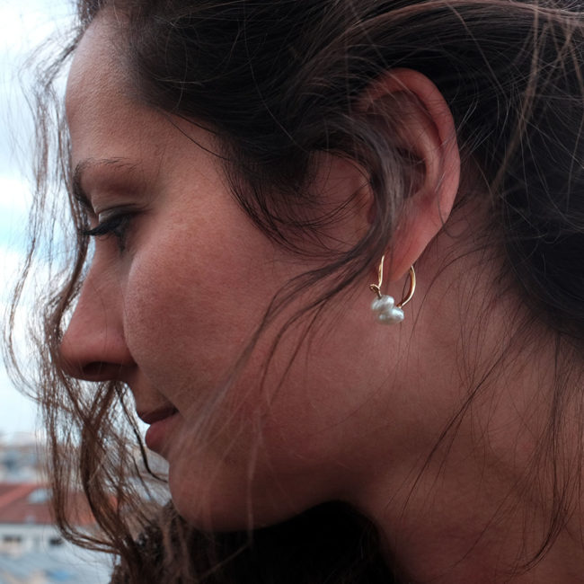 boucle perle